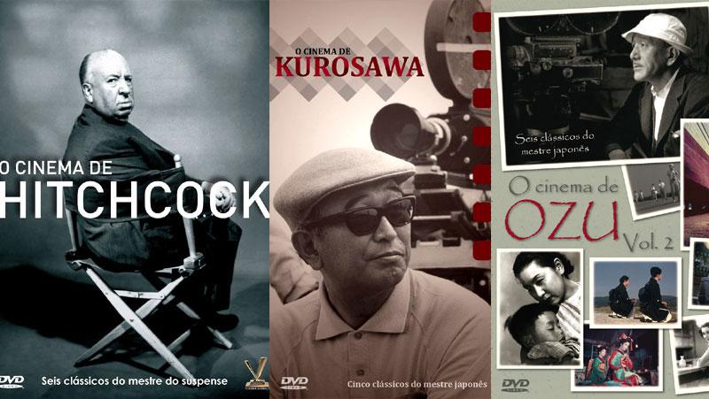 COLEÇÕES O CINEMA DE HITCHCOCK, KUROSAWA E OZU