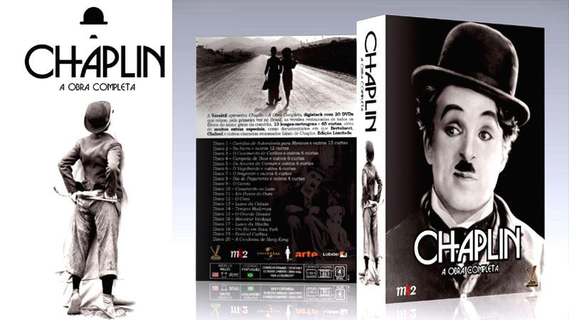 """CHAPLIN – A OBRA COMPLETA"" EM DVD NA 2001"
