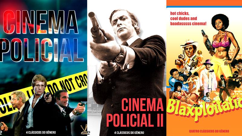 CINEMA POLICIAL É NA 2001, COM 4 COLEÇÕES DA VERSÁTIL