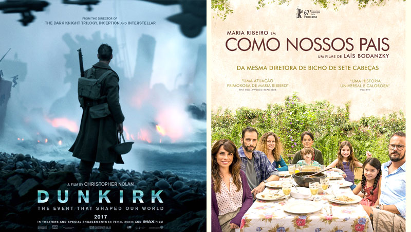 """""""DUNKIRK"""" E """"COMO NOSSOS PAIS"""", DOIS DESTAQUES DE 2017"""