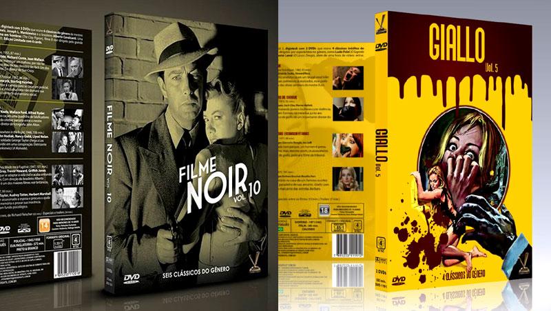 NOVAS COLEÇÕES DE FILME NOIR E GIALLO COM CARDS